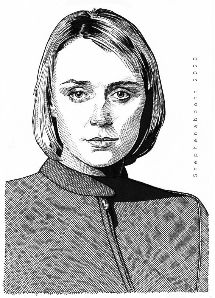 Keeley Hawes par Stefanosart